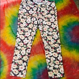 Juicy Couture Floral Print Covent Garden Pansies 6